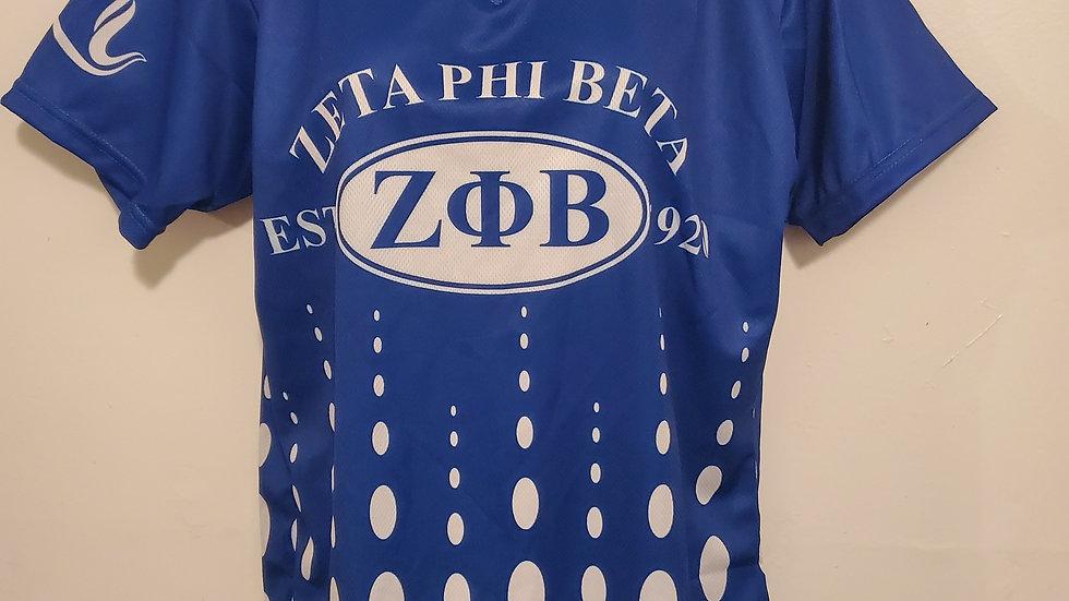 Zeta Oval Letter Jersey