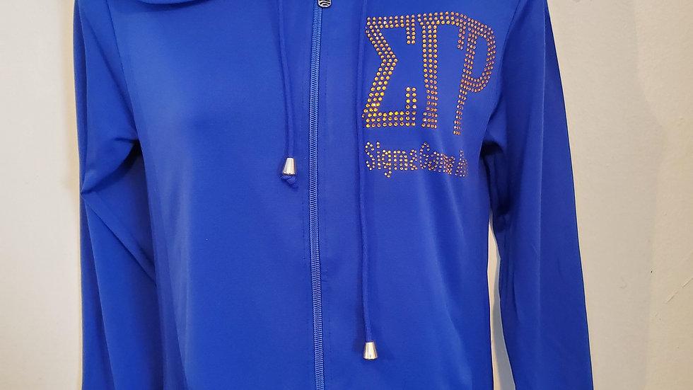 Sgrho Bling Spandex Jacket