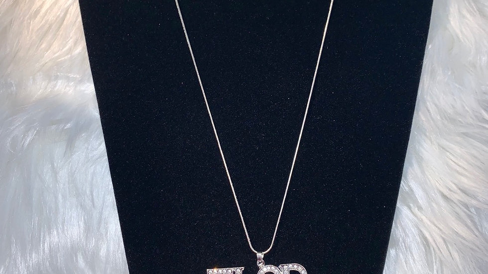 TLOD bling necklace