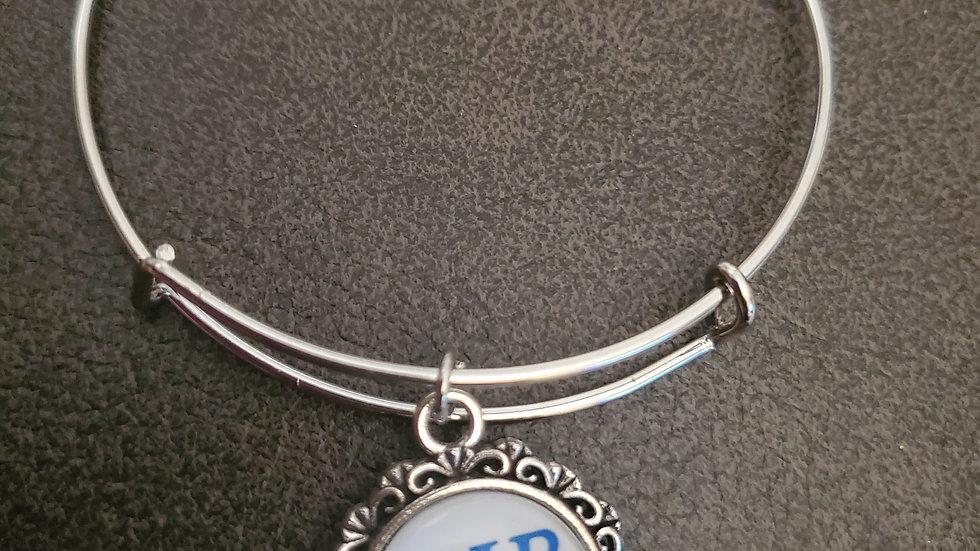 Zeta Silver Bracelet