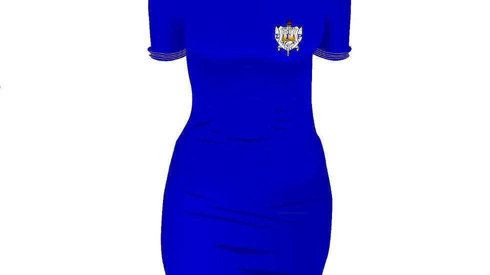 Sgrho Off Shoulder Dress (PREORDER)