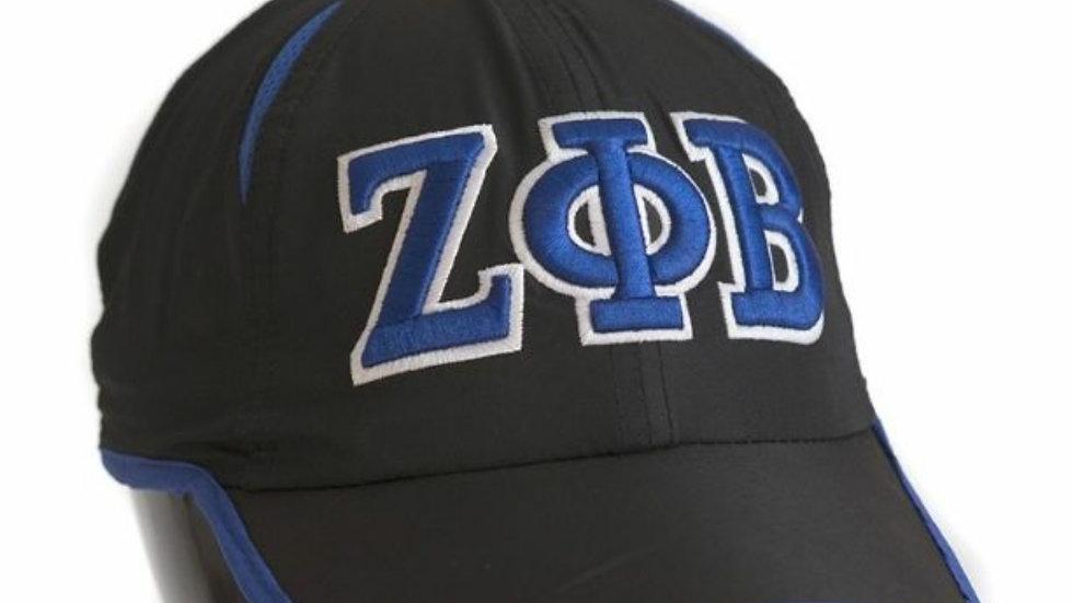 Zeta Black Letter Hat
