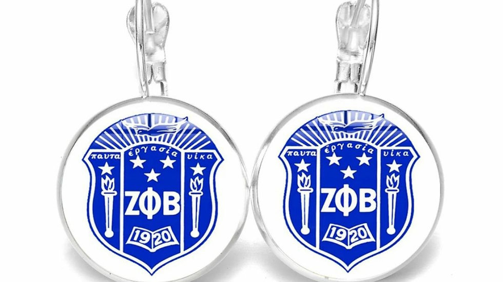Zeta Shield Earrings