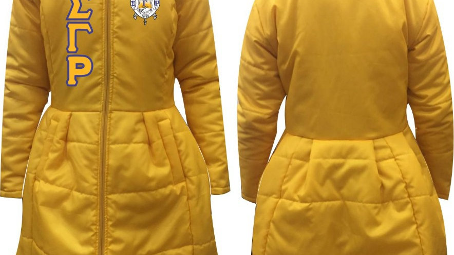 Sgrho New Gold Trock Coat (PREORDER)
