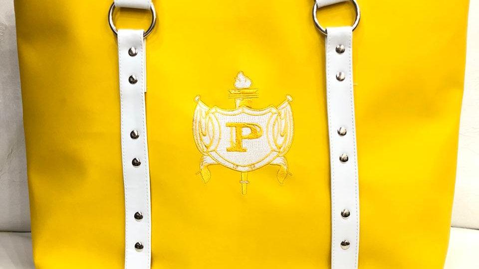 Philo Gold Leather Purse