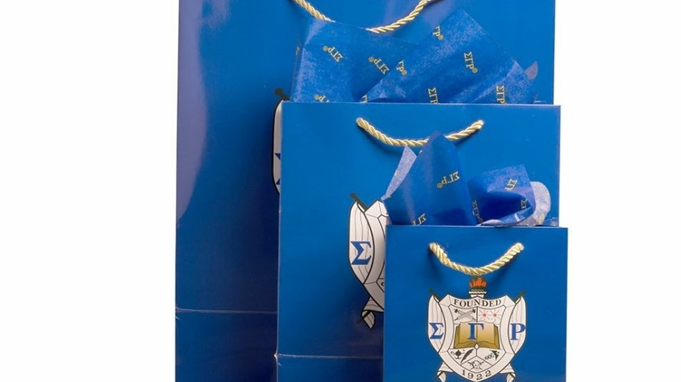 Sgrho 3 pack gift bags/tissue paper