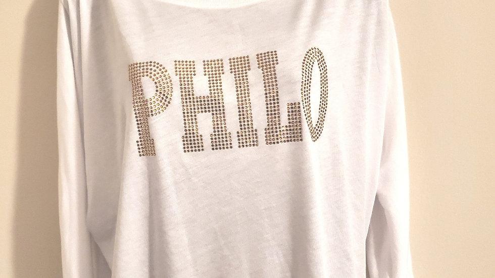 Philo White OFF Shoulder Shirt