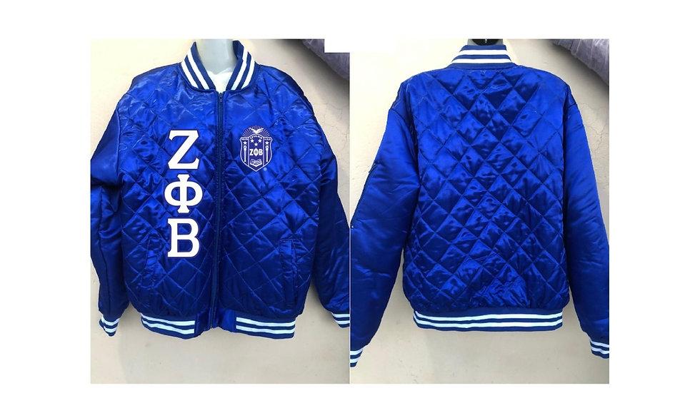 Zeta Blue Jacket