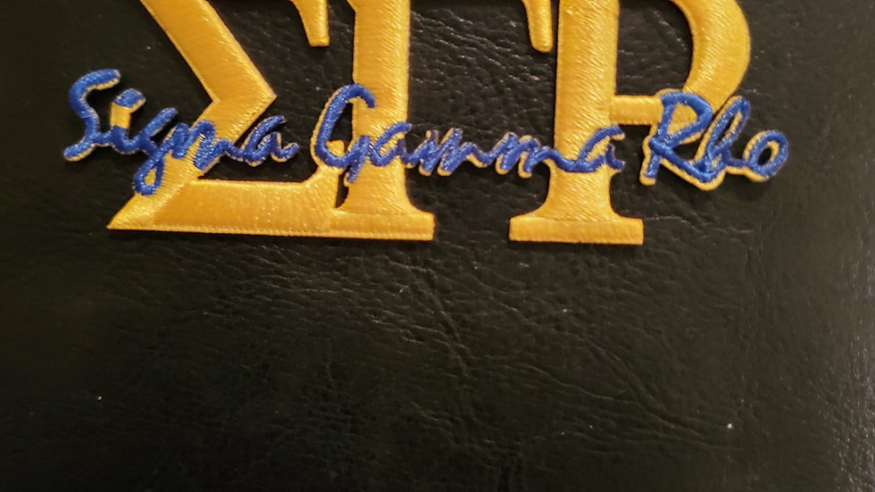 Sgrho Yellow Letter Patch