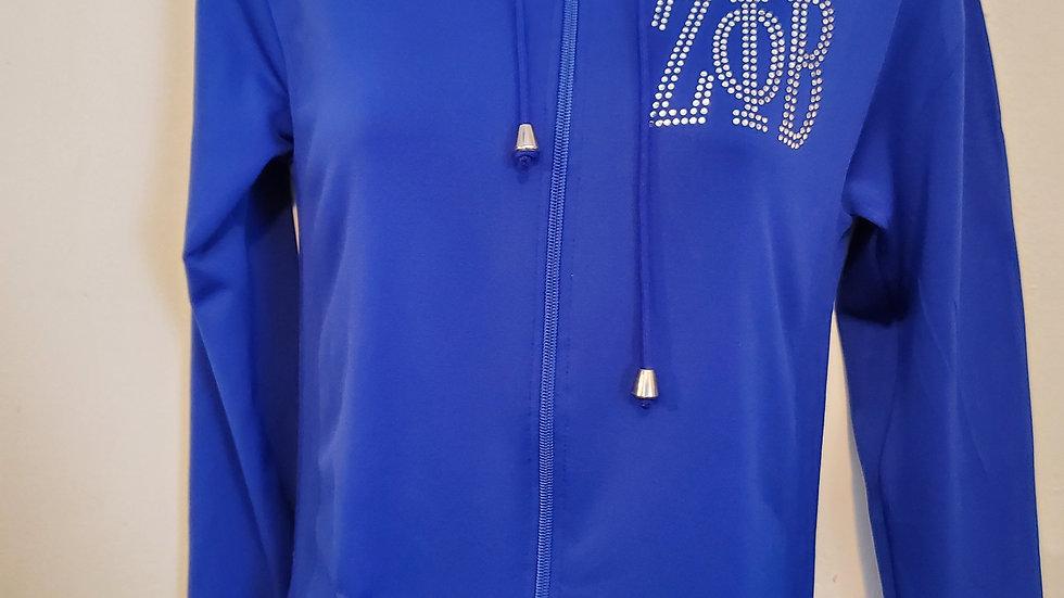 Zeta Bling Spandex Jacket