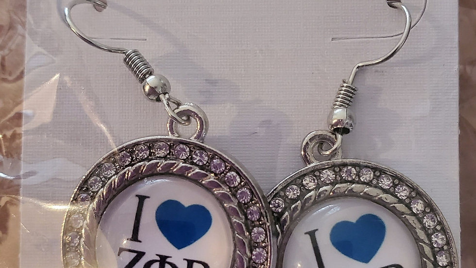 I love Zeta Earrings