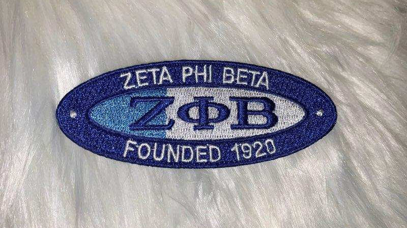 Zeta phi beta patch