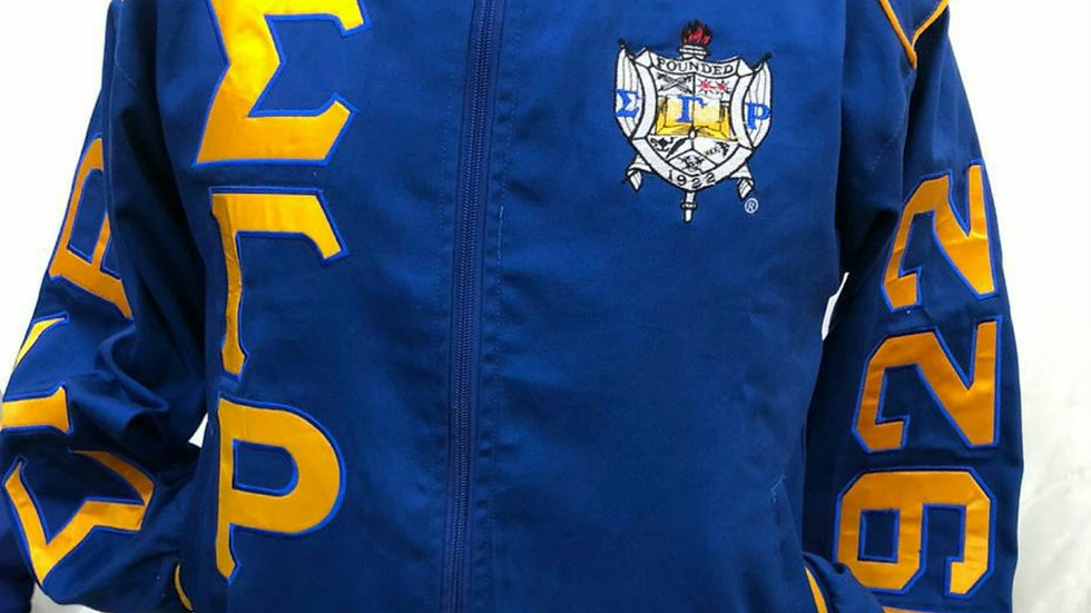 Sgrho Poodle Race car Jacket