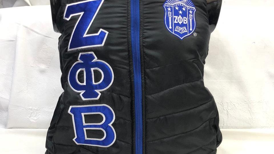 Zeta Black Finer Vest