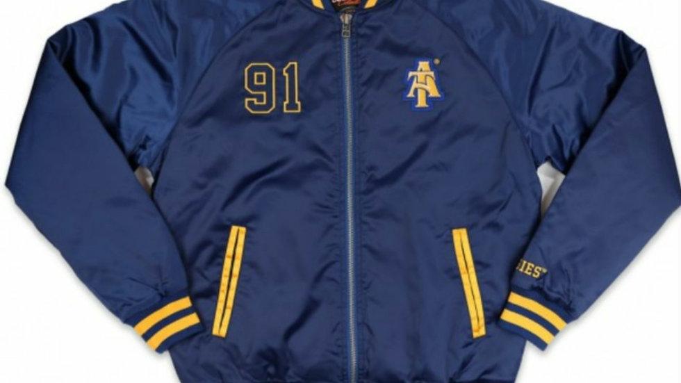 NC A&T  Baseball Jacket