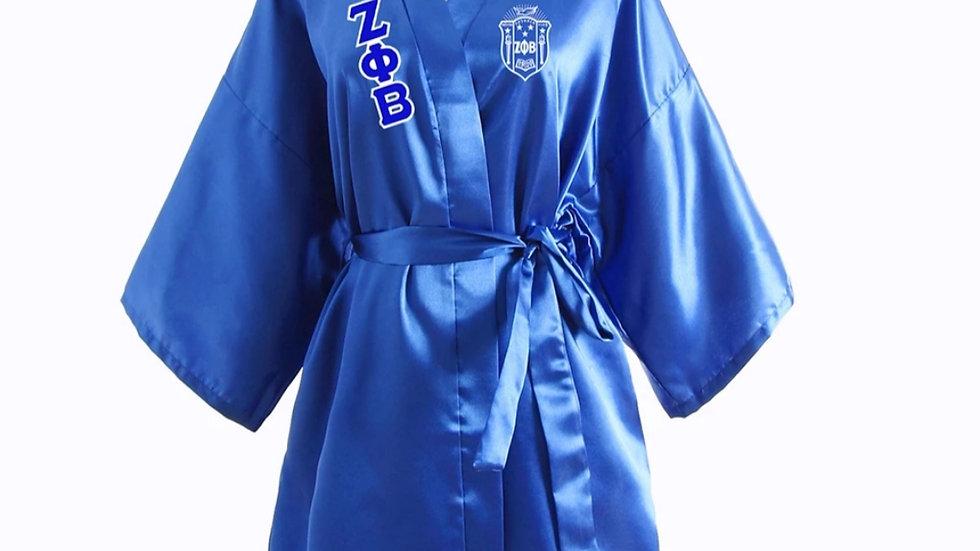 Zeta Silk Robe