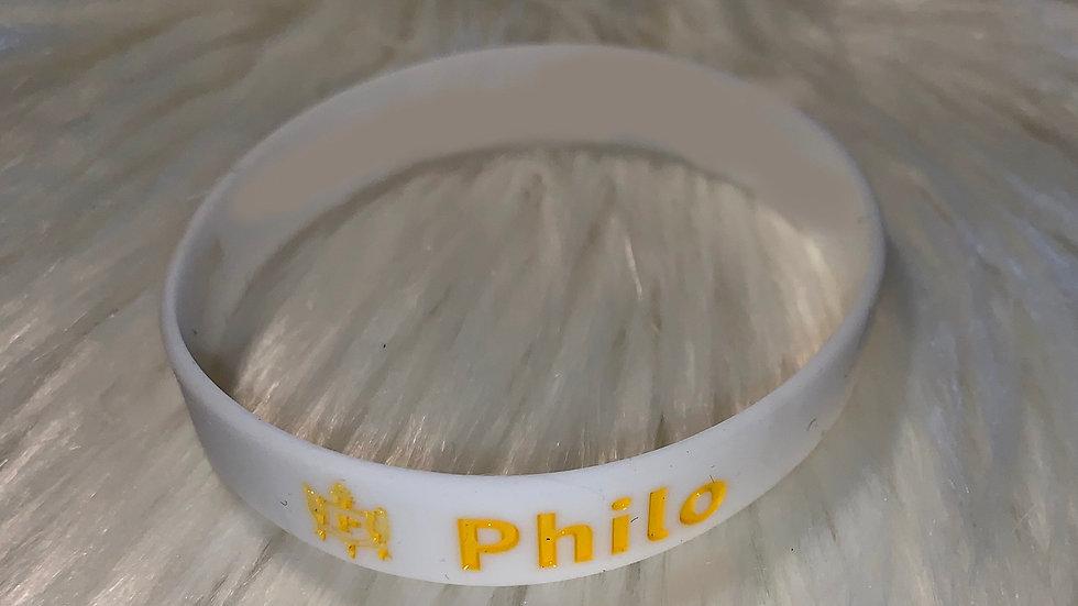 Philo rubber bracelet