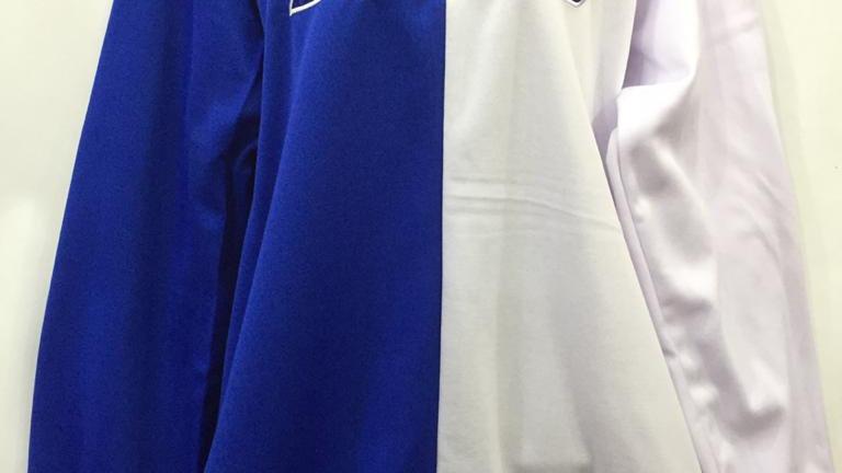 Zeta Blue/ white Sweatshirt