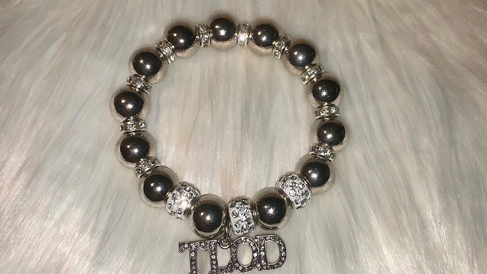 TLOD Chunky silver bracelet