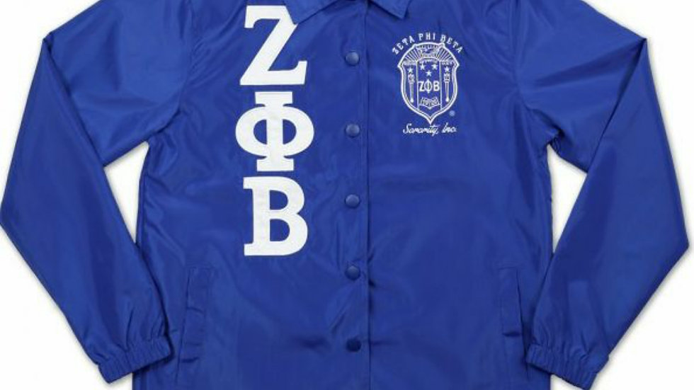 Zeta jacket with shield