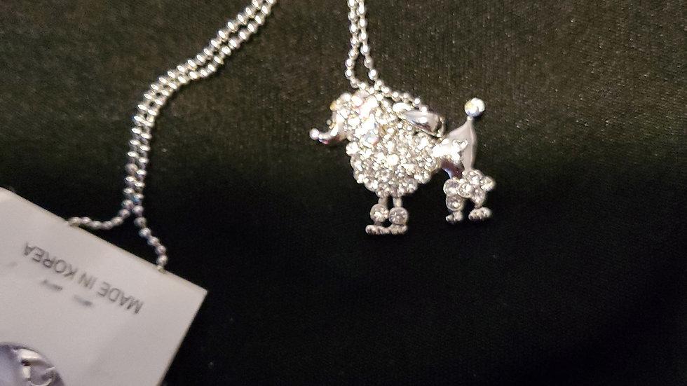 SGRHO POODLE Bling Necklace