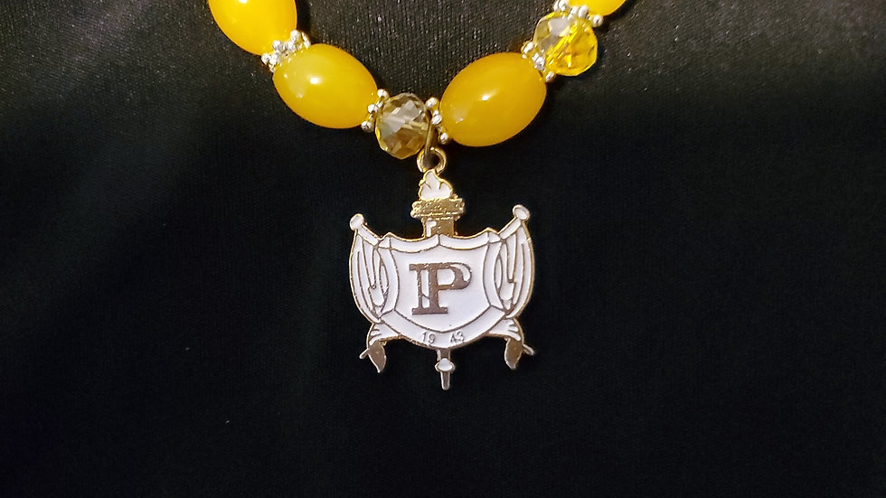 Philo Shield Yellow Bracelet