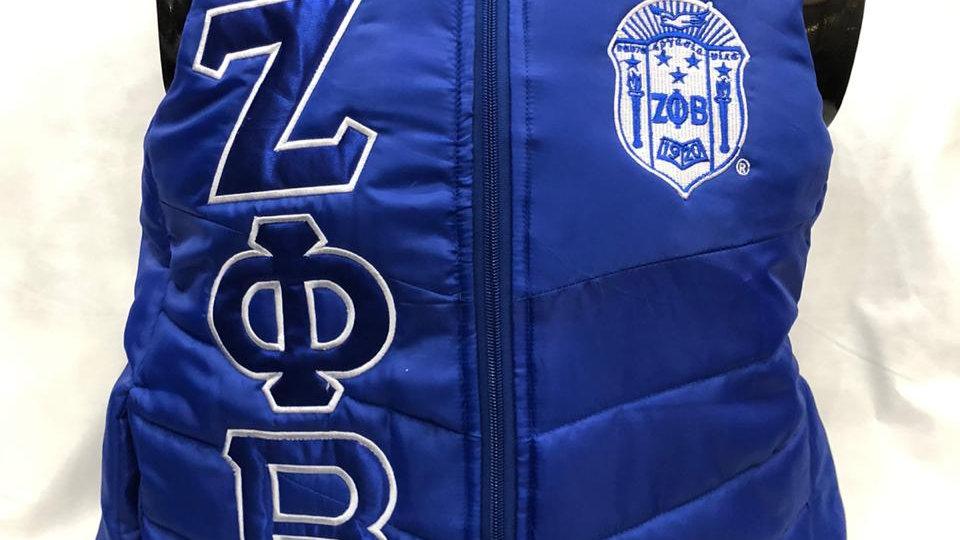 Zeta Blue Vest 1920