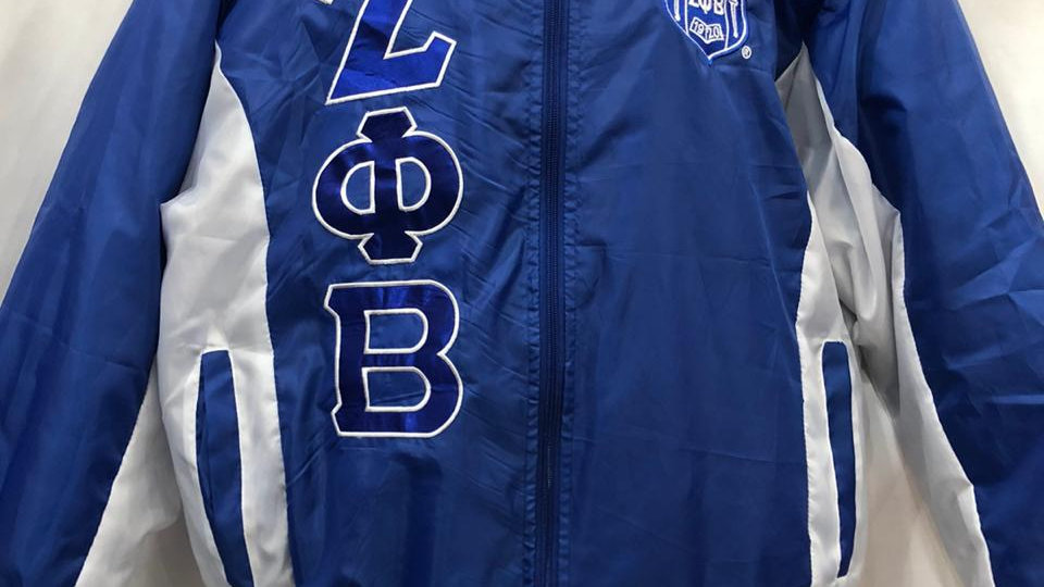 Zeta New Blue/white jacket