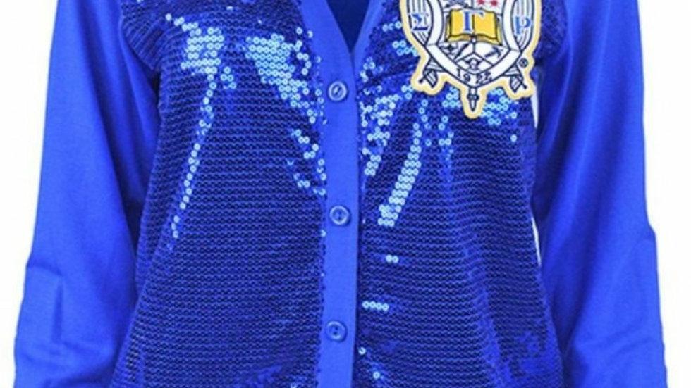 SGRHO All Sequin Cardigan
