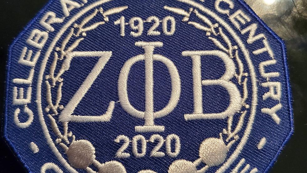 Zeta Big Centennial Patch