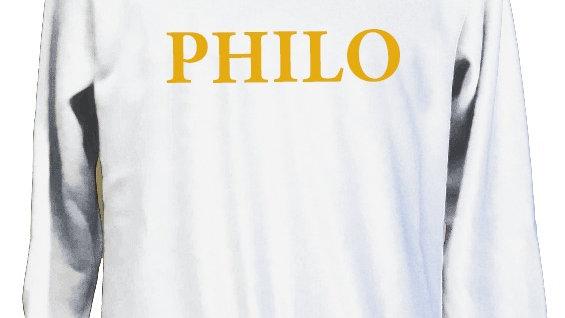 Philo Letter Sweatshirt