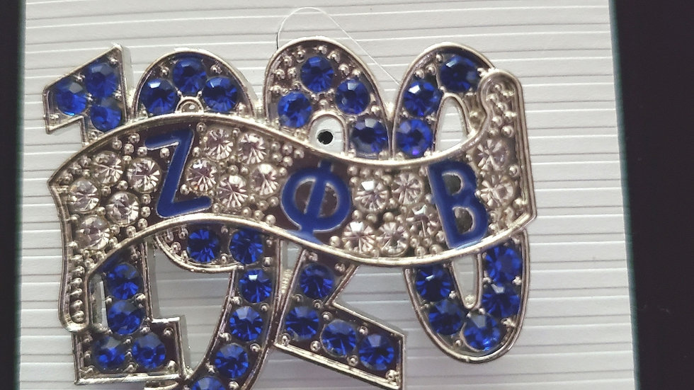 Zeta 1920 Big Bling pin