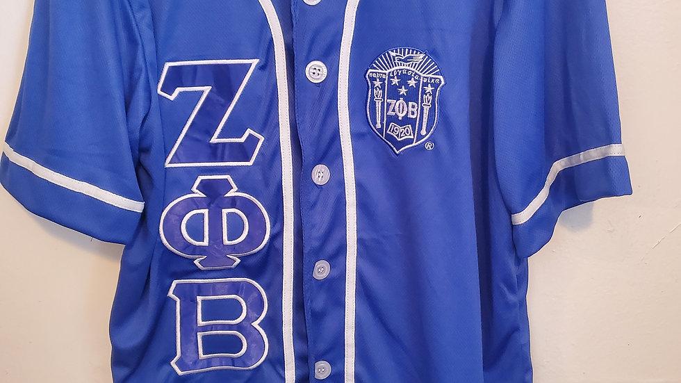 Zeta Baseball Jersey