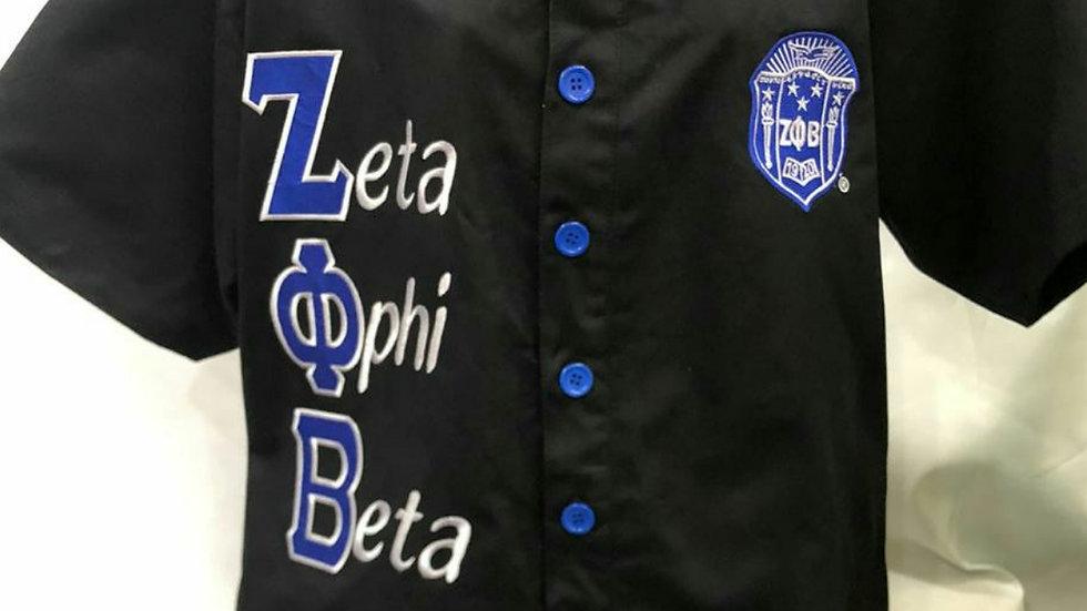 Zeta Black Polo