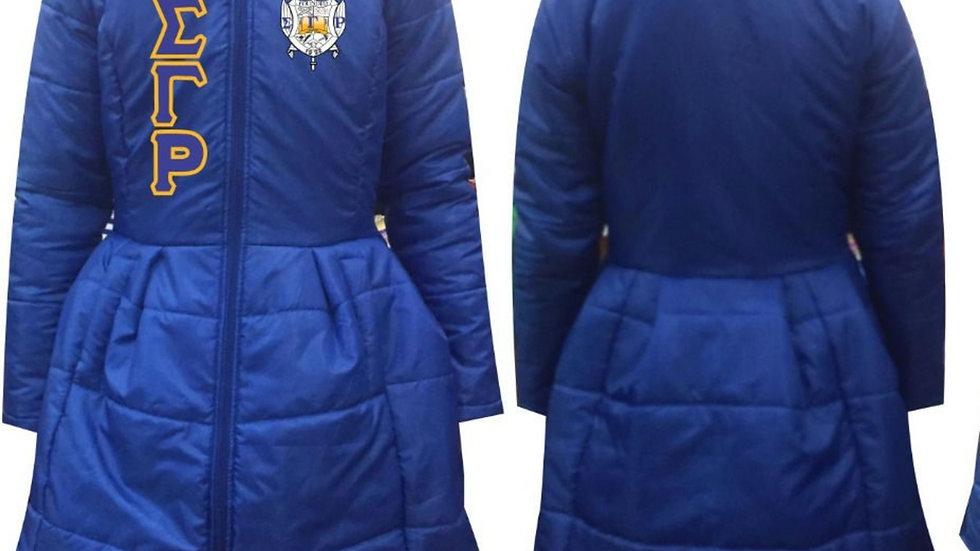 Sgrho New Blue Trock Coat