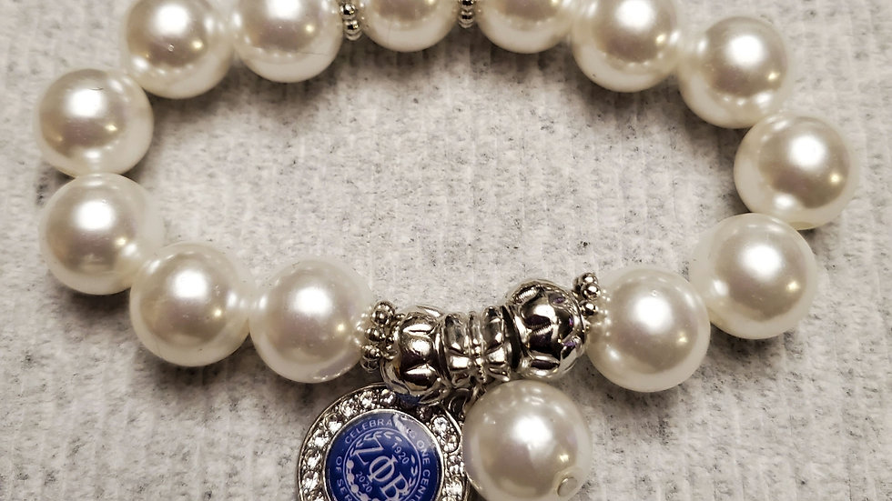 Zeta 100th year TearDrop Bracelet