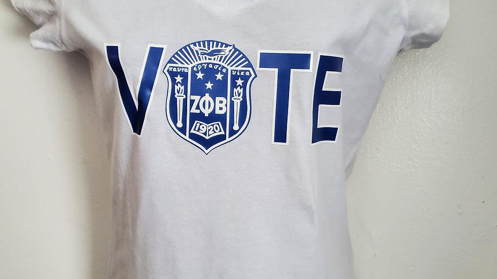 Zeta Vote Shirt
