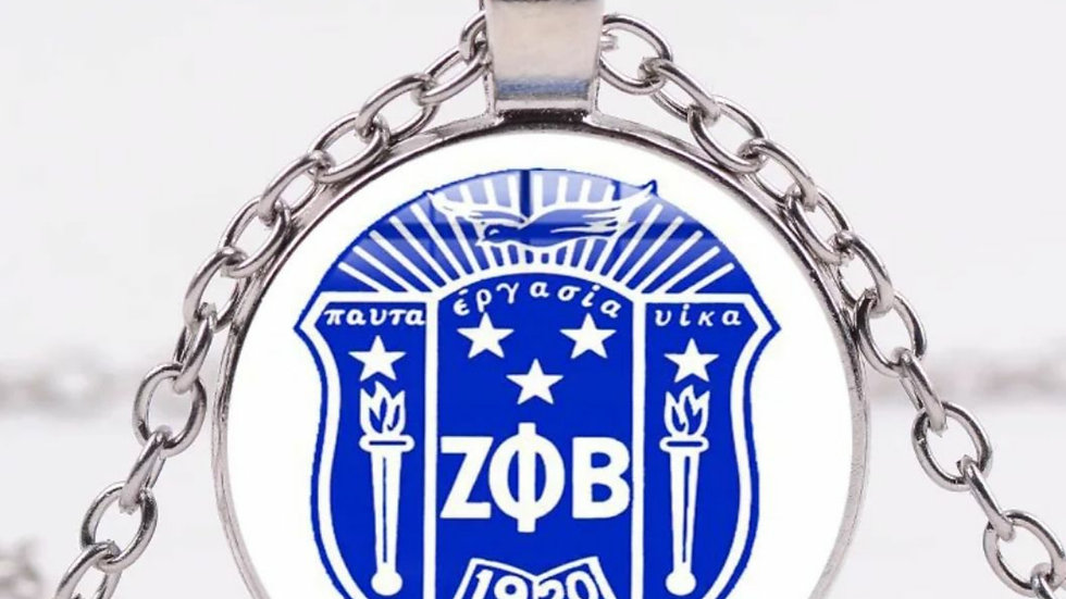 Zeta Shield Necklace