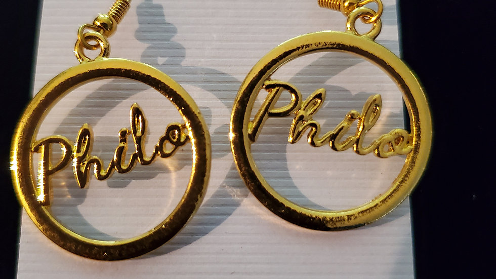 Philo Gold Earrings