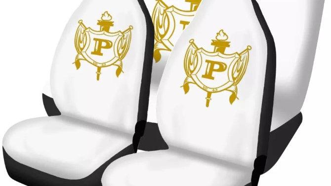 Philo White Seat Covers