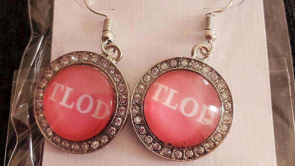 Tlod Pink Earrings