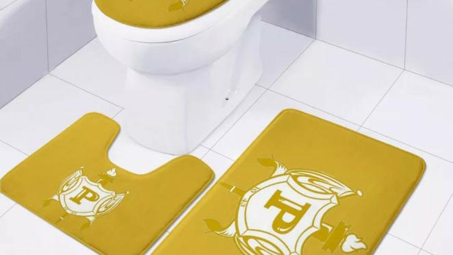 Philo Gold Bathroom Set