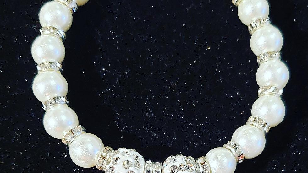 TLOD Pearl Charm Bracelet