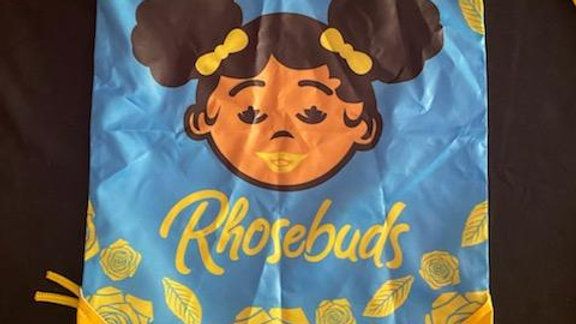 Rhosebud Drawstring bag