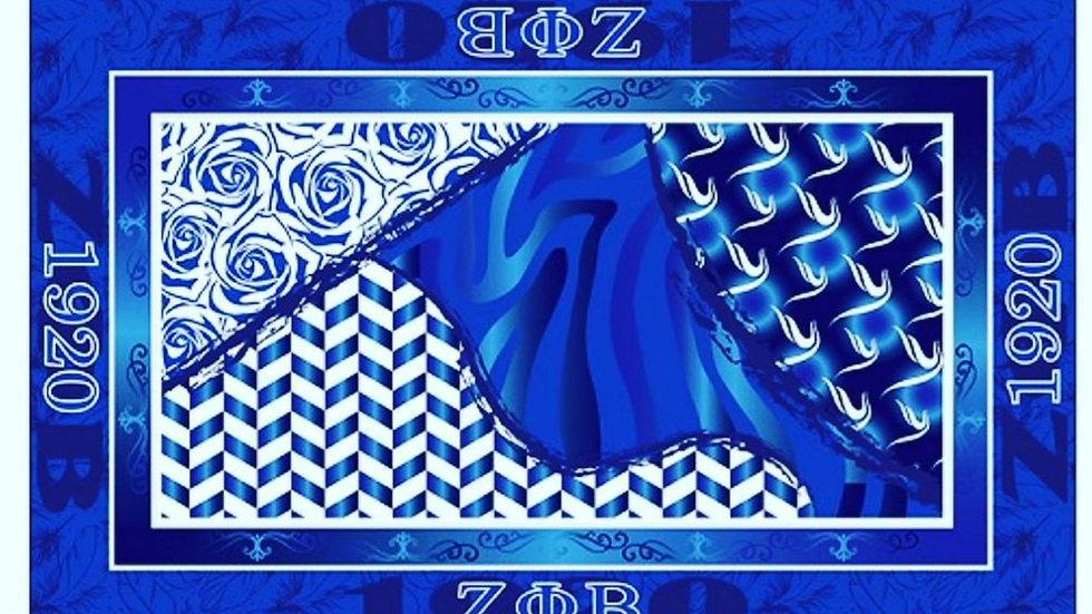 Zeta Silk Scarf