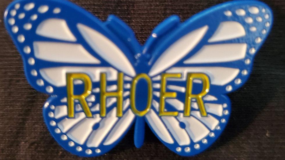 Rhoer Butterfly Lapel Pin
