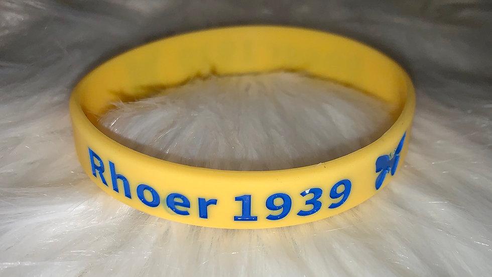 Rhoer rubber bracelet