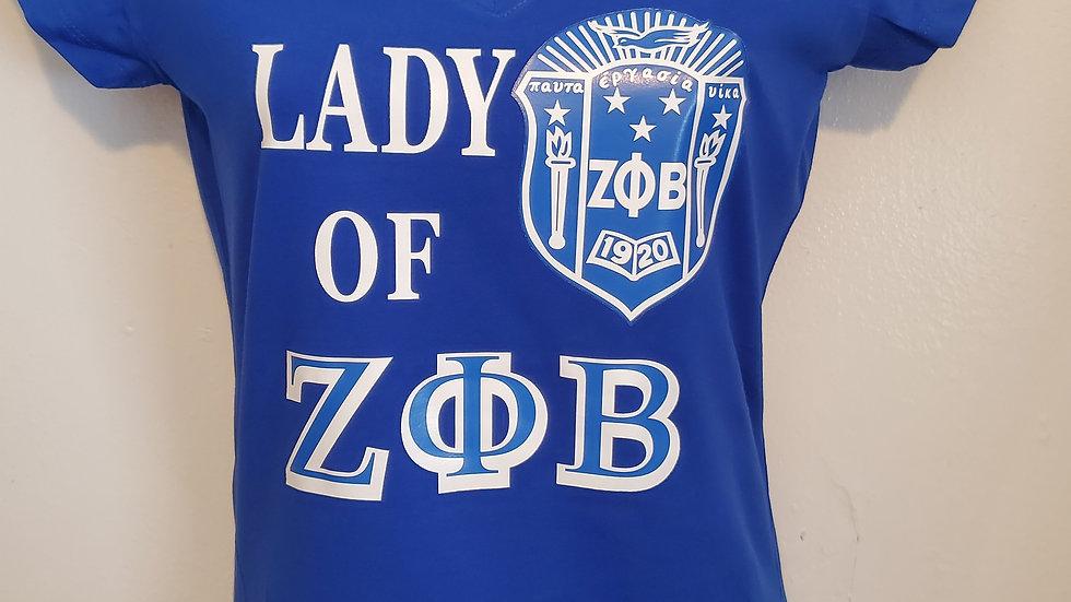 Lady Of Zeta Shirt
