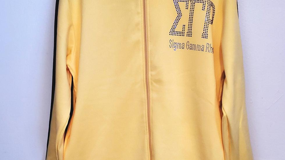 Sgrho Gold Jogging Suit