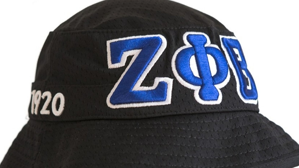 Zeta Black bucket Hat